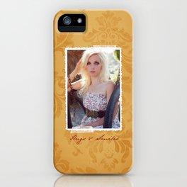 HS Senior - Yellow iPhone Case