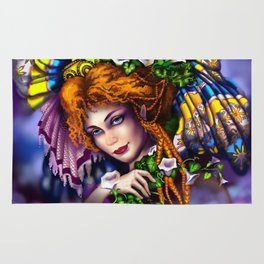Fairy love and magic Rug