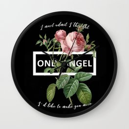 Harry Styles Only Angel Artwork Wall Clock
