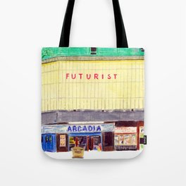 THE FUTURIST Tote Bag