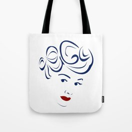 Lucy - Hairography (Lucille Ball) (I Love Lucy) Tote Bag