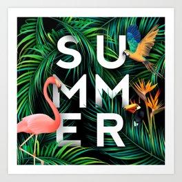Summer Jungle Art Print