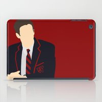 glee iPad Cases featuring Sebastian Smythe - Grant Gustin - Glee - Minimalist design by Hrern1313