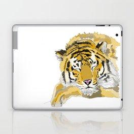 Sleepy Tiger Laptop & iPad Skin