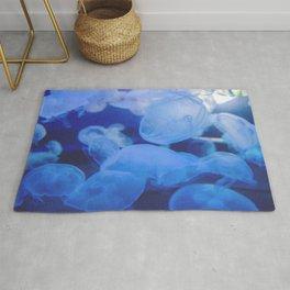Jellyfish Land - Blue Heaven Rug