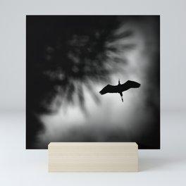The flight Mini Art Print
