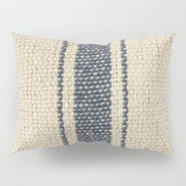 Vintage French Farmhouse Grain Sack Pillow Sham