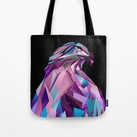 eagle Tote Bags featuring Eagle by Jonathan Vizcuna