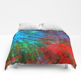 Abstract Big Bangs 001 Comforters