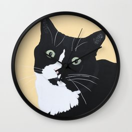 Smudge Wall Clock