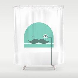 Nerdbot Shower Curtain