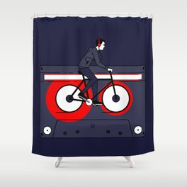 Welcome to Your Tape Shower Curtain