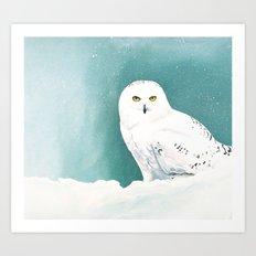 Arctic Eyes Art Print