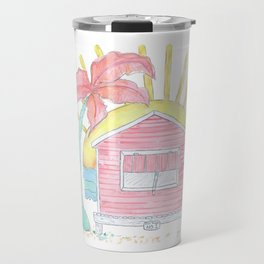 Beach Shack Vibes Travel Mug