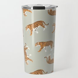 Tiger Trendy Flat Graphic Design Travel Mug