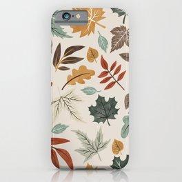 Autumn leaves fall IU iPhone Case