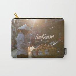 Vietnam street market Carry-All Pouch