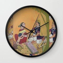 Bangles salesman Wall Clock