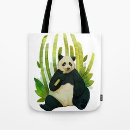 Giant Panda Bear Tote Bag