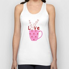 Cup Of Love Unisex Tank Top