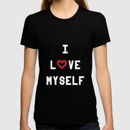 I love myself (black) T-shirt