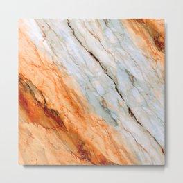Marble Texture 2B Metal Print