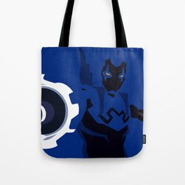 Blue Beetle Minimalism Tote Bag