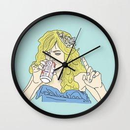 Sweet Dee Drinks A Beer Wall Clock