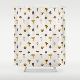 Mushroom Glaze Shower Curtain