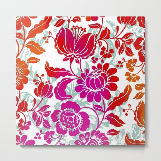 Flowers III Metal Print