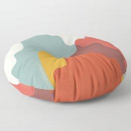 Worlds Collide - Climb Floor Pillow