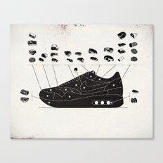 MAX100 / 004: Cuts Canvas Print