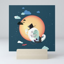 Monsieur Salut Mini Art Print