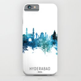 Hyderabad Skyline India iPhone Case