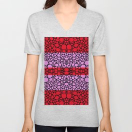 Equality For All 2 - Stone Rock'd Art By Sharon Cummings Unisex V-Neck