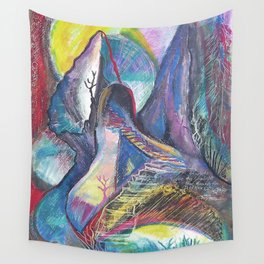 Staircase to the Sun Wall Tapestry