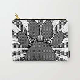 Dog Paw Print Manga Style Carry-All Pouch