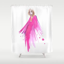 Chiara Pucci Shower Curtain