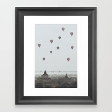 Bagan VI Framed Art Print
