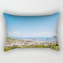 View on Baia Italy Rectangular Pillow
