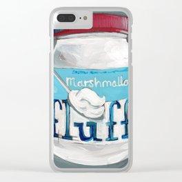 Fluff II Clear iPhone Case