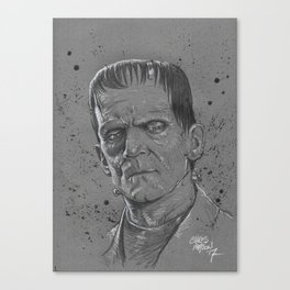 Frankenstein Monster Canvas Print