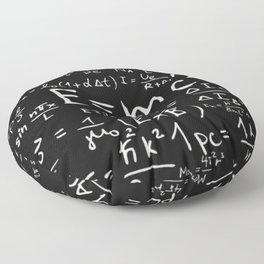 Formulas Floor Pillow