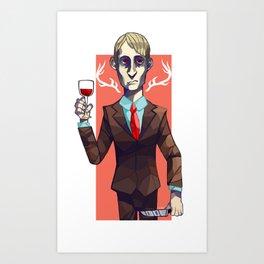 Hannibal Lecter Art Print