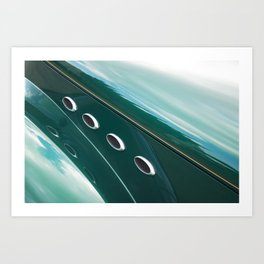 1941 Willys Roadster Art Print