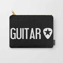 Guitarist: Guitar Pick & Black Star Carry-All Pouch