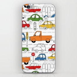 Busy Traffic Pattern iPhone Skin