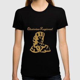 clearview regional women dark clothing soul power mom T-shirt
