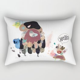SayHello Rectangular Pillow