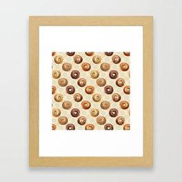 Bagels Framed Art Print